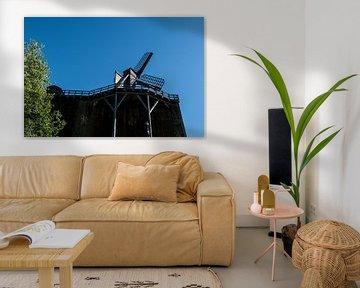 Gradierwerk mit Windmühle von Norbert Sülzner