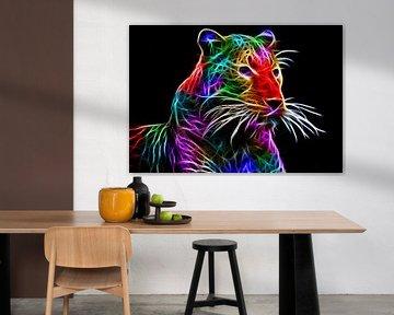 die Farbe Leopard von Bert Hooijer