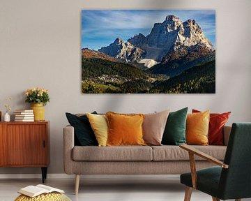 Dolomieten Landschap - 2, Italië van Adelheid Smitt