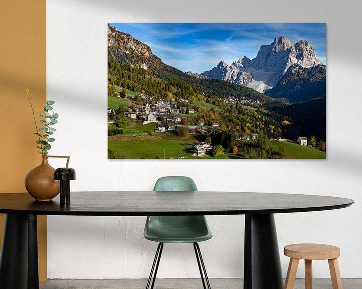 Sfeerimpressie: Dolomieten Landschap -5, Italië van Adelheid Smitt