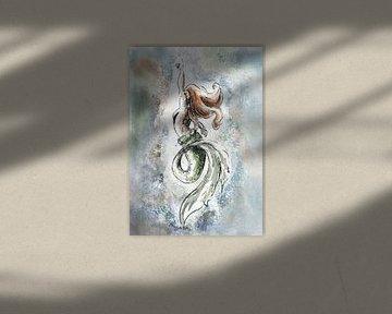 Meerjungfrau-Explosion von Emiel de Lange
