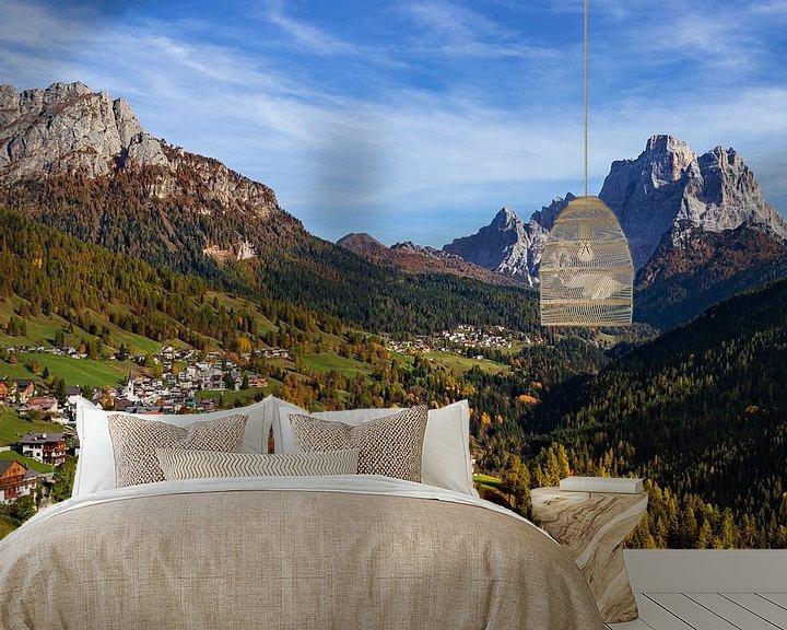 Sfeerimpressie behang: Dolomieten Landschap - 6 van Adelheid Smitt