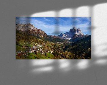 Dolomieten Landschap - 6 van Adelheid Smitt