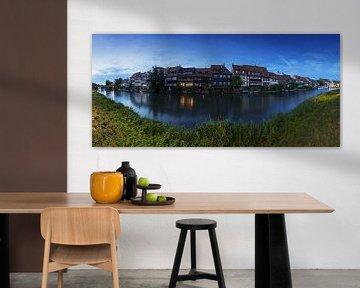 Bamberg - La petite Venise à l'heure bleue