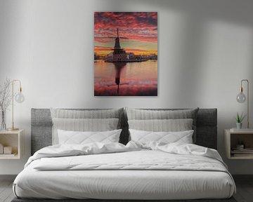 Epische zonsopkomst (staand) van Harro Jansz