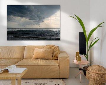 Gewitterwolke an der Ostsee von Ralf Lehmann