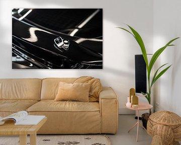 Mercedes-AMG GT sleutels op de spoiler van Bas Fransen