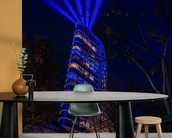 Sfeerimpressie behang: De Vestedaoren in Eindhoven van Bas Fransen