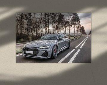 Nardo-grauer Audi RS6 von Bas Fransen