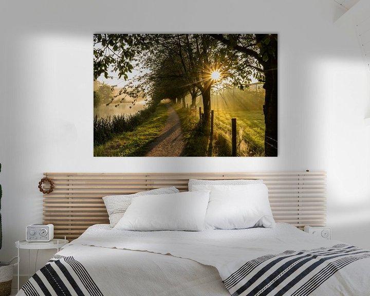 Impression: Belle atmosphère par un matin brumeux le long du Kromme Rijn sur Arthur Puls Photography