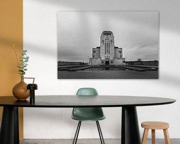 Radio Kootwijk, schwarz-weiß von Patrick Verhoef