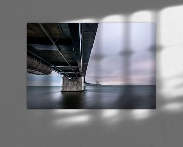 De Oresund brug een vernuftige verbinding tussen Zweden en Denemarken van Gerry van Roosmalen