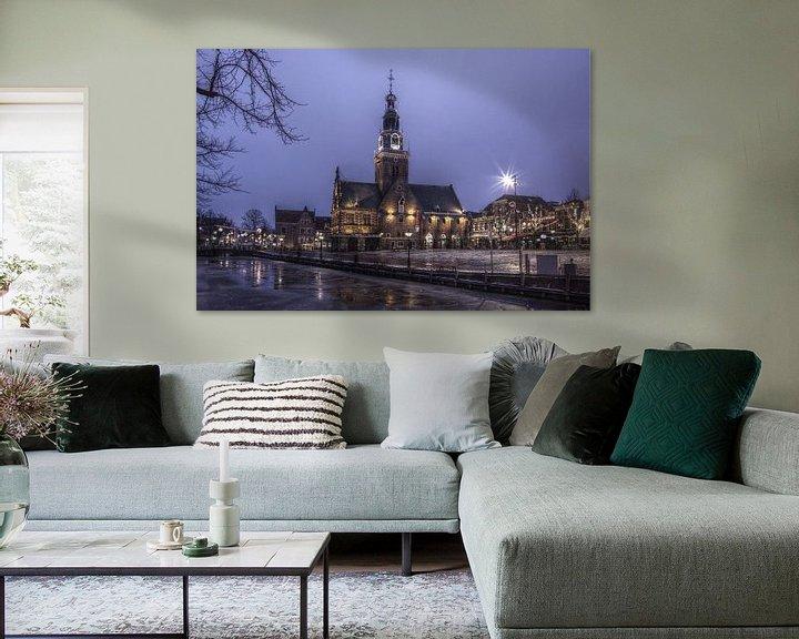 Sfeerimpressie: Oud Alkmaar 1 van Mike Bing