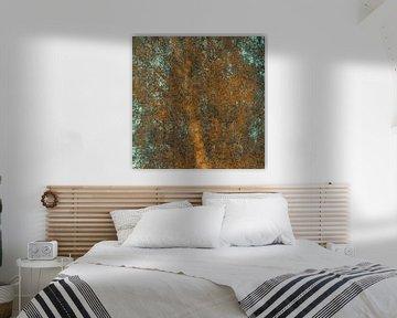 De berkenboom is een kunstwerk op zichzelf van jowan iven