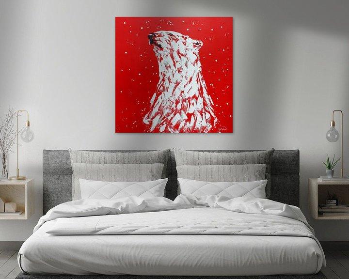 Beispiel: Eisbär Cola von Kathleen Artist Fine Art