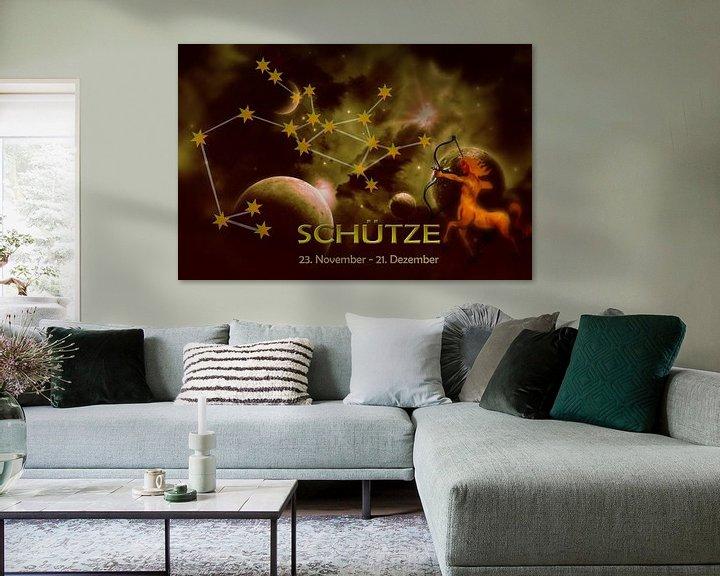 Sfeerimpressie: Sterrenbeeld - Boogschutter van Christine Nöhmeier