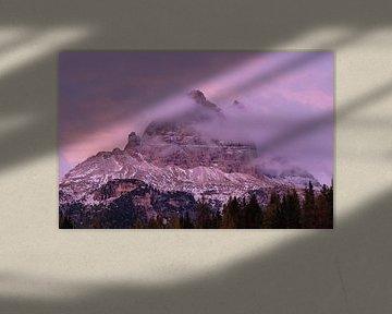 Sunset, Dolomites