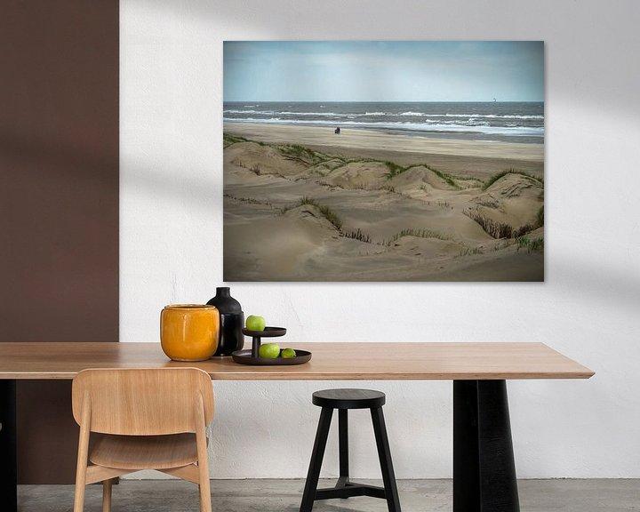 Beispiel: Dünen am Meer von Martijn Tilroe