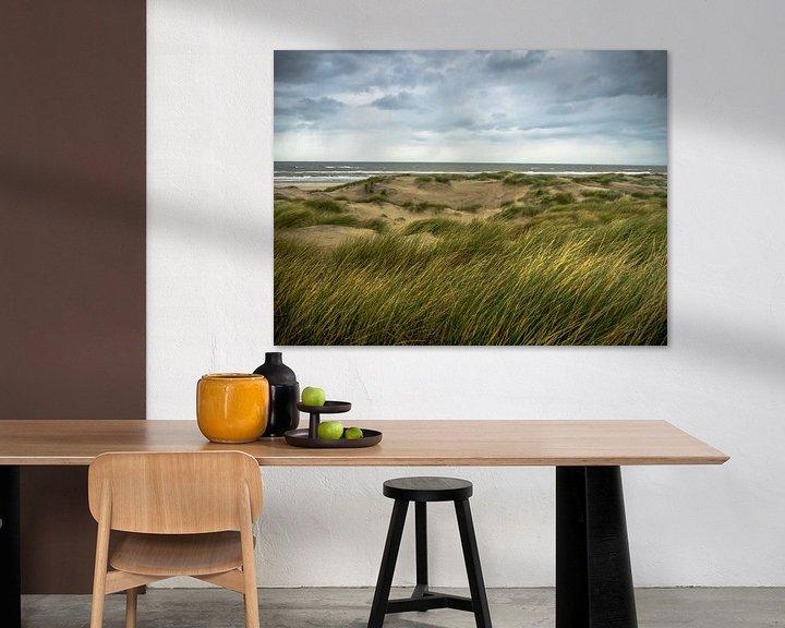 Beispiel: Dünengras im Wind von Martijn Tilroe