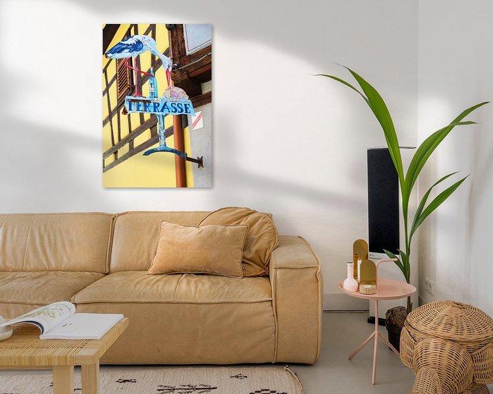 Sfeerimpressie: Frans terrasje van Inge Hogenbijl