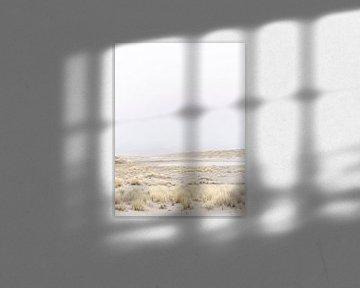 Winderig duinlandschap van Laura-anne Grimbergen