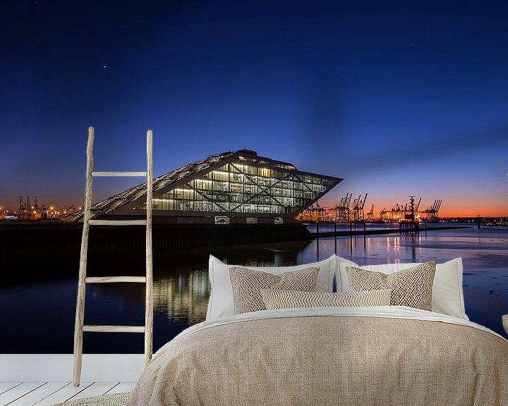 Beispiel fototapete: Dockland Hamburg von Alexander Schulz