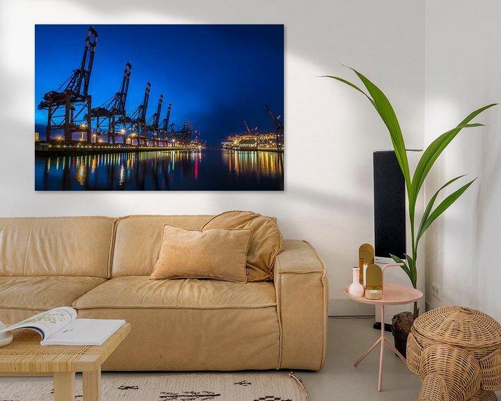Beispiel: Containerhafen Hamburg von Alexander Schulz