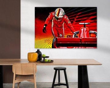 Vettel - The Years in Red von Jean-Louis Glineur alias DeVerviers