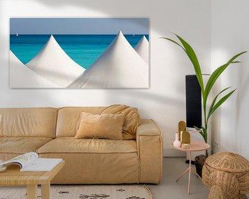 Nice aan de Côte d'Azur van Werner Dieterich