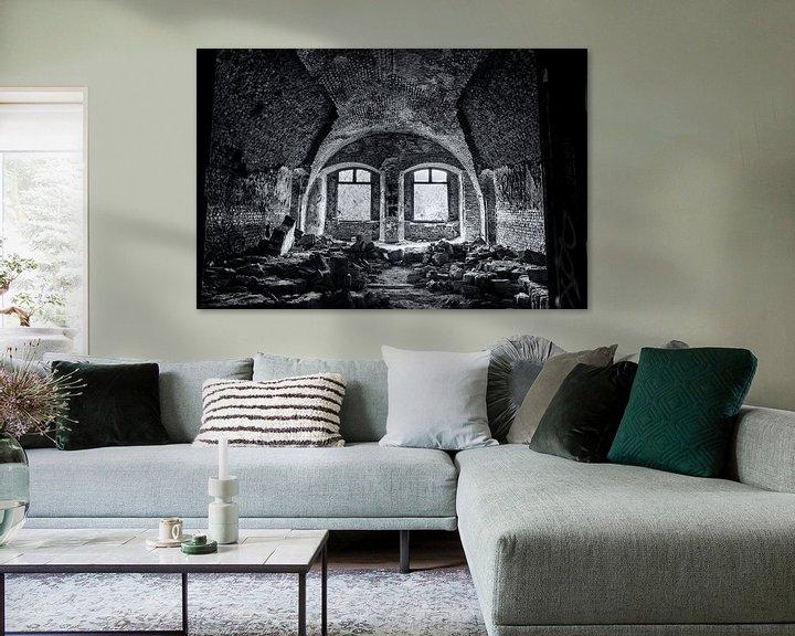 Beispiel: urbex des Zimmers in Fort Chatreuse von Ronenvief