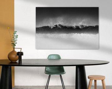 Spetterende golven - Natuurlijk Ameland van Anja Brouwer Fotografie