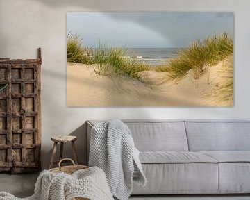 Zicht op zee van Mieke Engelbos Photography
