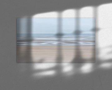 Zee en strand en strand en zee van Mieke Engelbos Photography