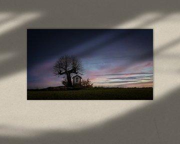 Zonsondergang in alle eenvoud van Mieke Engelbos Photography