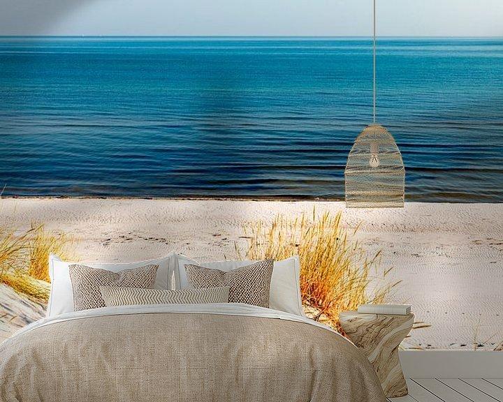Beispiel fototapete: Dünen und das Meer von Sascha Kilmer