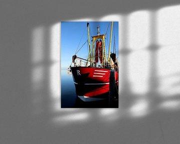 Bateau de pêche sur Terschelling - 1 sur Mooi op Terschelling