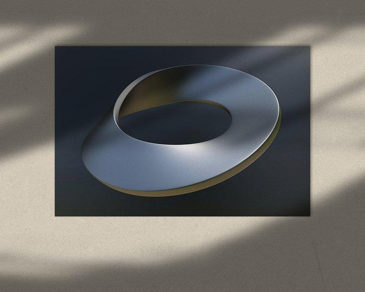 Sfeerimpressie: Mobius ring van Chrisjan Peterse
