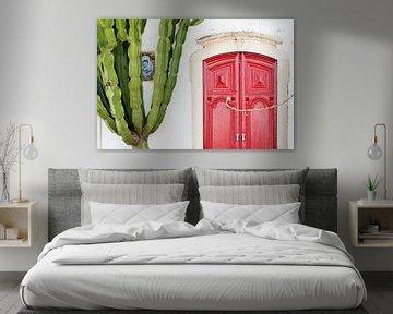 Rote Tür von Remke Spijkers