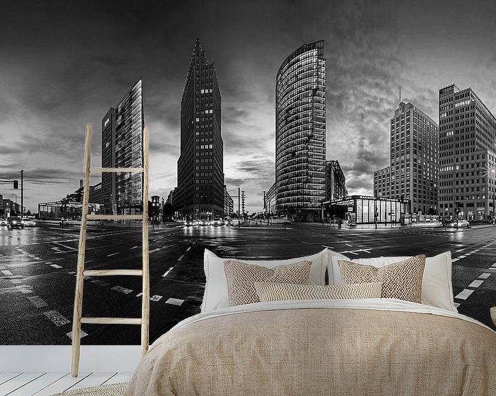 Impression: Panorama de la Potsdamer Platz de Berlin sur Frank Herrmann