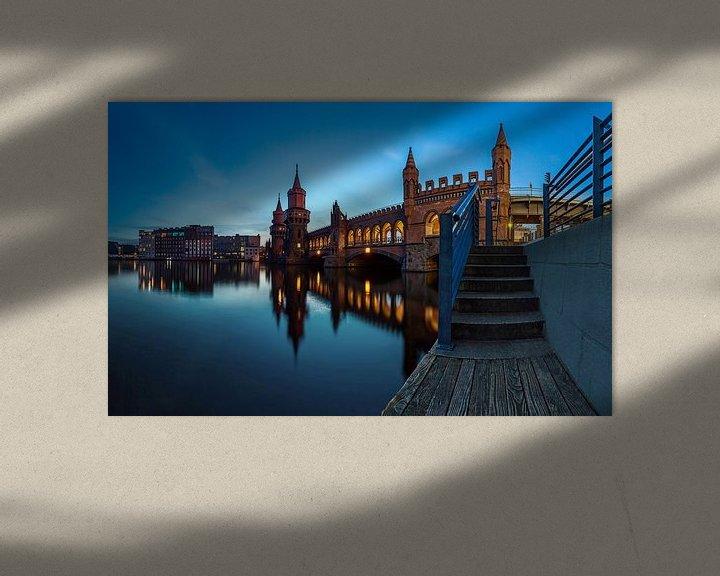 Impression: Panorama de l'Oberbaumbrücke Berlin sur Frank Herrmann