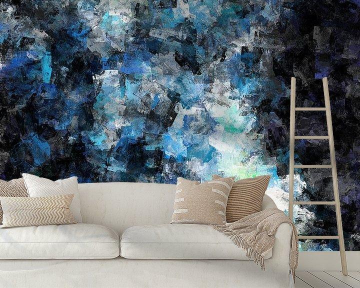 Sfeerimpressie behang: Abstract vrouwelijk naakt van Maurice Dawson