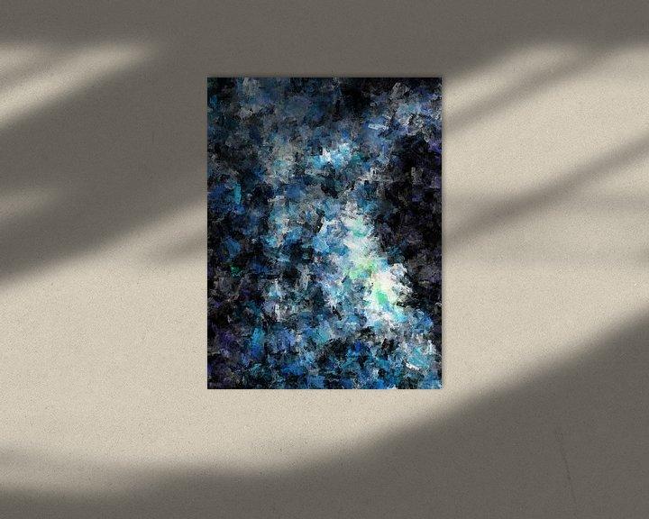 Sfeerimpressie: Abstract vrouwelijk naakt van Maurice Dawson