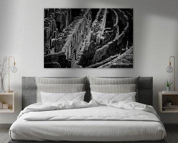 Das Kolosseum | Schwarz-Weiß-Foto I Reisefotografie von Diana van Neck Photography