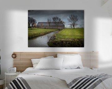 Old Barn - De Lier - Westland - Netherlands van Raymond Voskamp