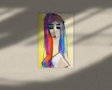 Colorful hair i don't care van Jolanda Janzen-Dekker