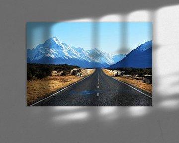 Blick auf Mount Cook von Kelly Van den elshout