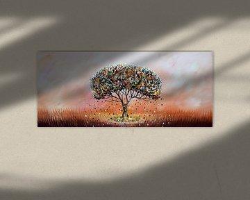 Tree of Life van Gena Theheartofart