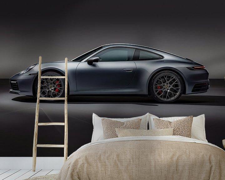 Impression: Porsche 911 Carrera 4S, voiture de sport. sur Gert Hilbink