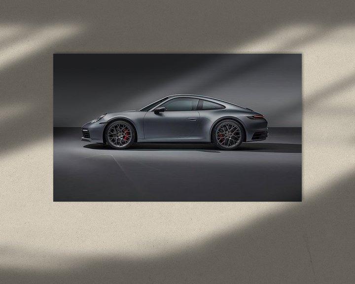 Beispiel: Porsche 911 Carrera 4S, Sportwagen. von Gert Hilbink