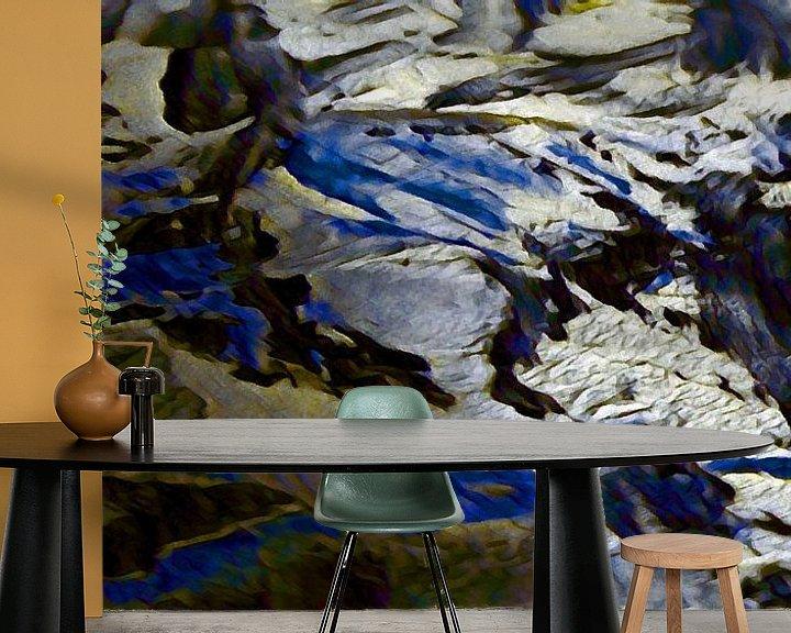 Sfeerimpressie behang: Noordelijke IJszee van Peter Norden